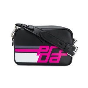 New Authentic Prada Logo Camera Bag Crossbody